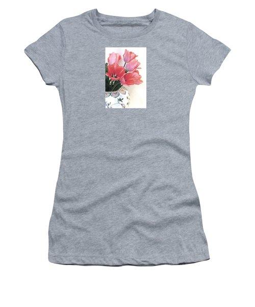 Gathered Tulips Women's T-Shirt