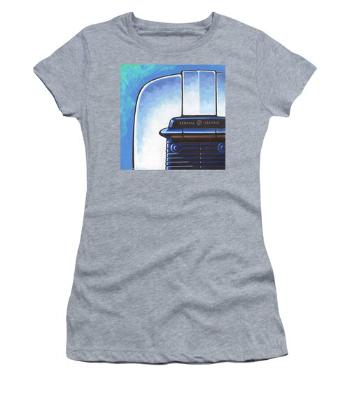 General Electric Toaster - Blue Women's T-Shirt (Athletic Fit)