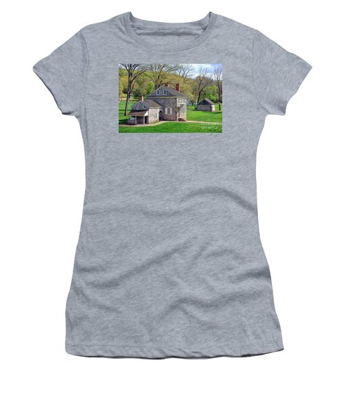 George Washington Headquarters At Valley Forge Women's T-Shirt