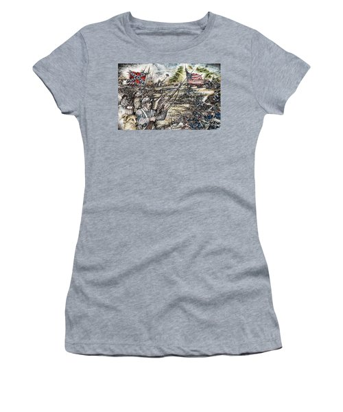 Gettysburg Ash's At The Angle Women's T-Shirt (Athletic Fit)