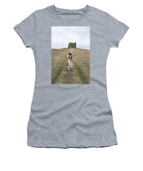 Girl Walks To A Chapel Women's T-Shirt