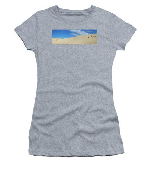 Girls Getting Ready To Slide Women's T-Shirt
