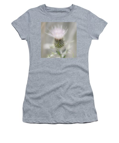 Glimmering Thistle Women's T-Shirt (Athletic Fit)