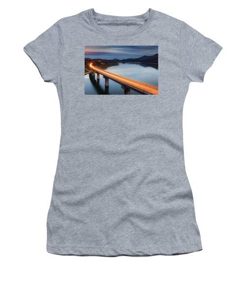 Glowing Bridge Women's T-Shirt