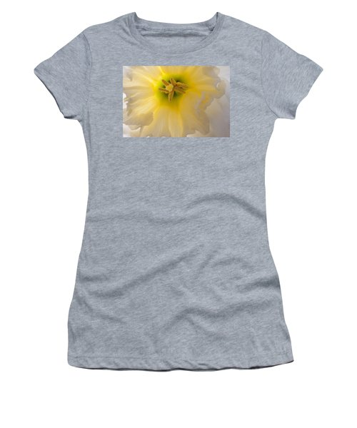 Glowing Daffodil Women's T-Shirt (Athletic Fit)