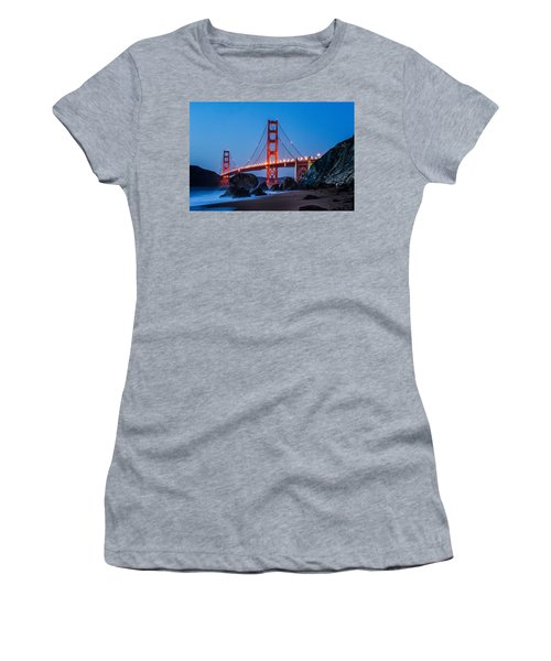 Golden Gate At Twilight Women's T-Shirt (Athletic Fit)