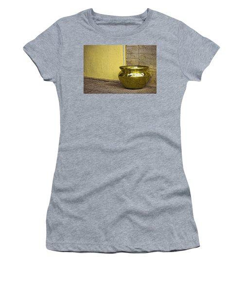 Golden Pot Women's T-Shirt (Athletic Fit)