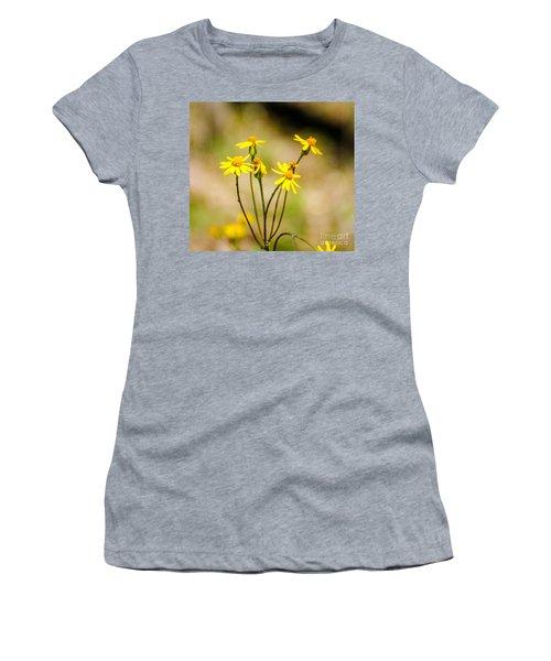 Golden Ragwort Women's T-Shirt