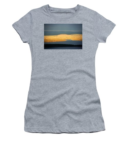 Golden Shores Women's T-Shirt (Athletic Fit)