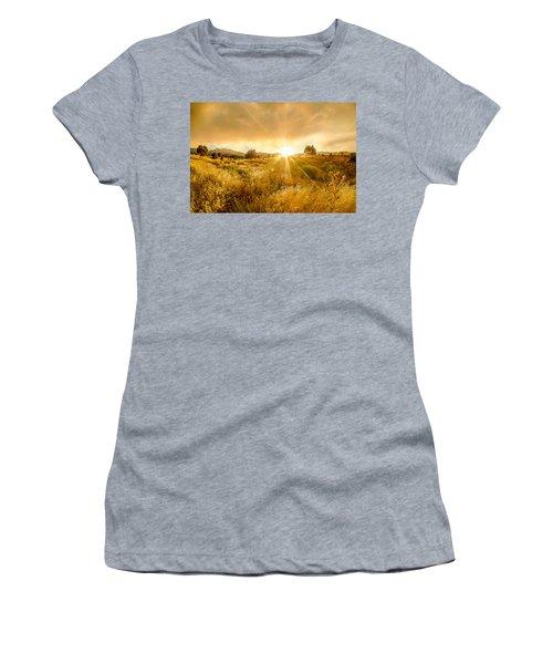 Golden Smoke Women's T-Shirt