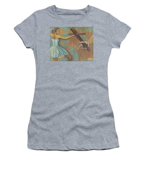 'grace Was Given' Women's T-Shirt (Athletic Fit)