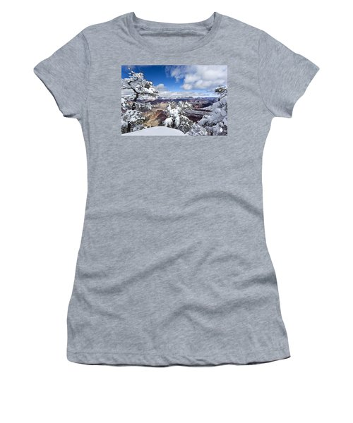 Grand Canyon Winter - 1 Women's T-Shirt (Athletic Fit)
