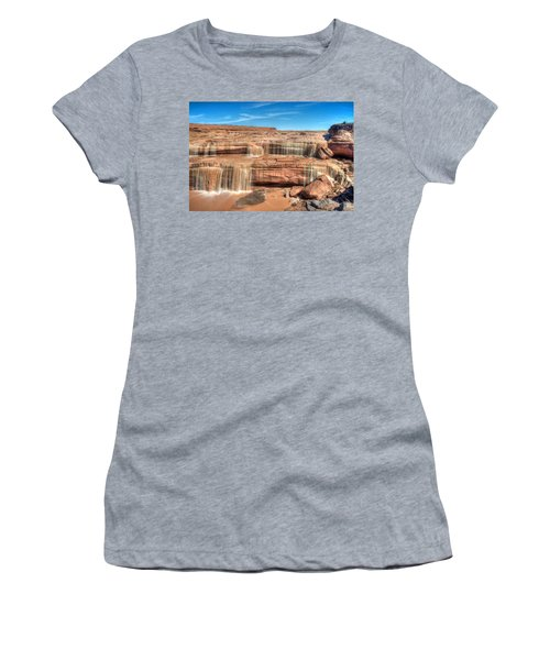 Grand Falls Women's T-Shirt (Athletic Fit)