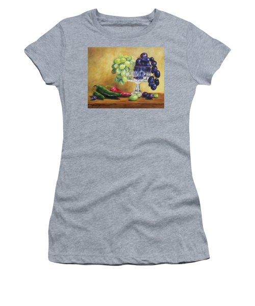 Grapes And Jalapenos Women's T-Shirt