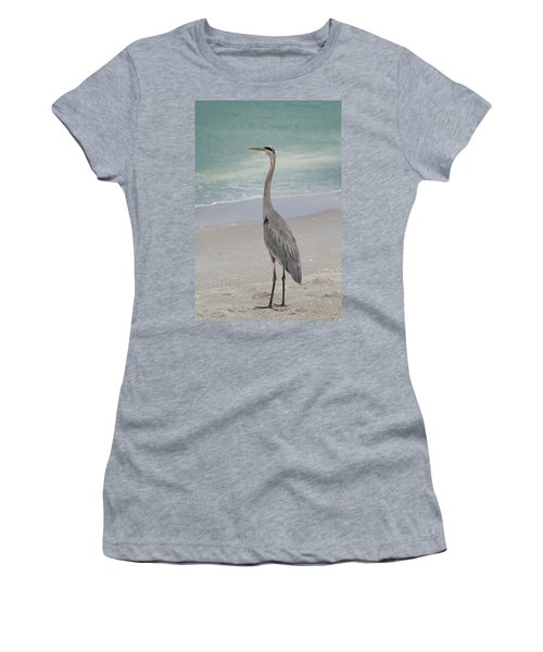 Great Blue Heron Women's T-Shirt