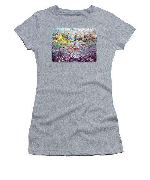 Great Day In Chicago - Sold Women's T-Shirt (Junior Cut) by George Riney