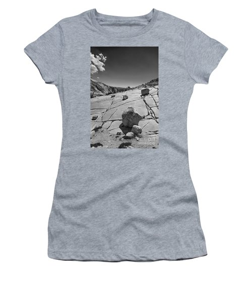 Half Dome From Olmsted Point Women's T-Shirt (Athletic Fit)
