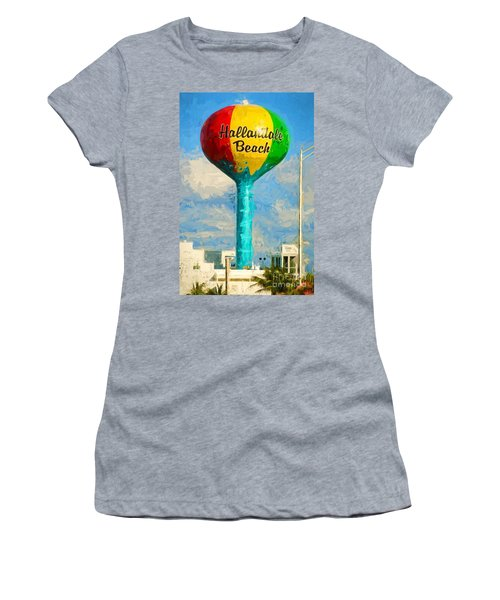 Hallandale Beach Water Tower Women's T-Shirt