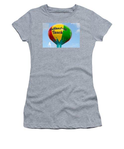 Hallendale Beach Water Tower Women's T-Shirt