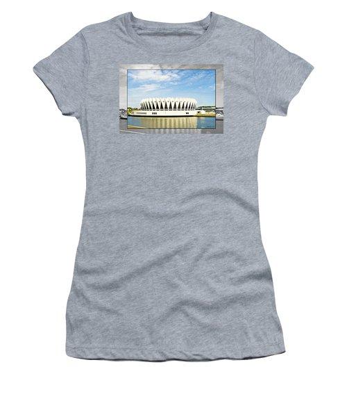 Hampton Coliseum Women's T-Shirt (Athletic Fit)