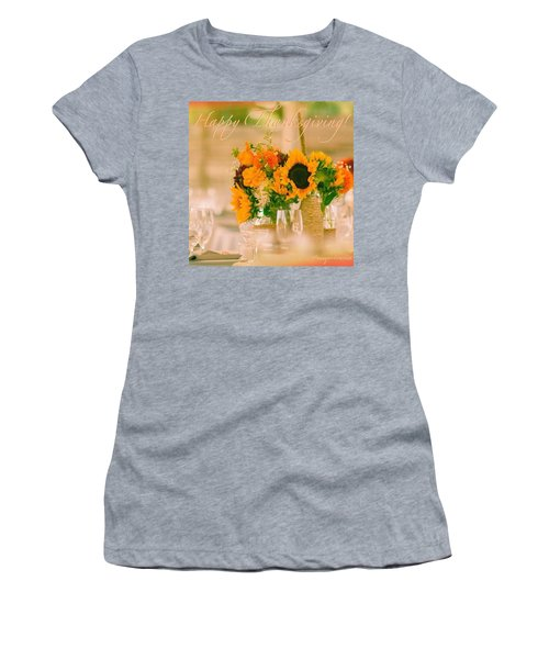 "Happy Thanksgiving!!! ""for Each New Women's T-Shirt"