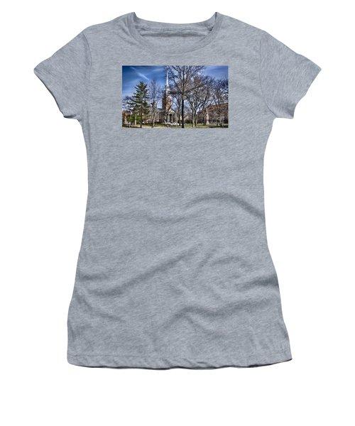 Harvard University Old Yard Church Women's T-Shirt (Athletic Fit)