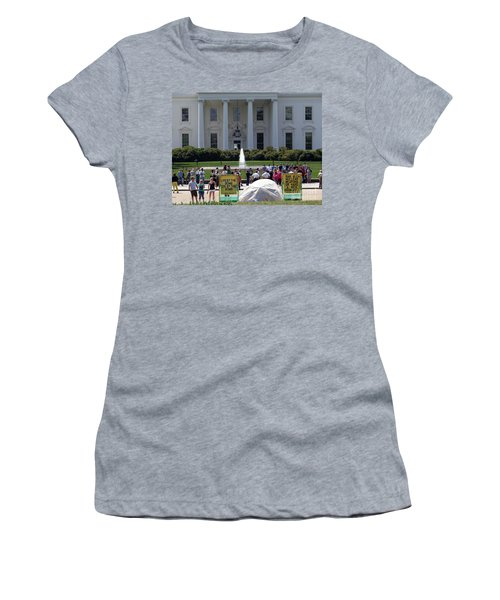 Women's T-Shirt (Junior Cut) featuring the photograph Have A Nice Doomsday by Ed Weidman