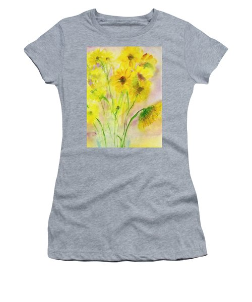 Hazy Summer Women's T-Shirt (Athletic Fit)