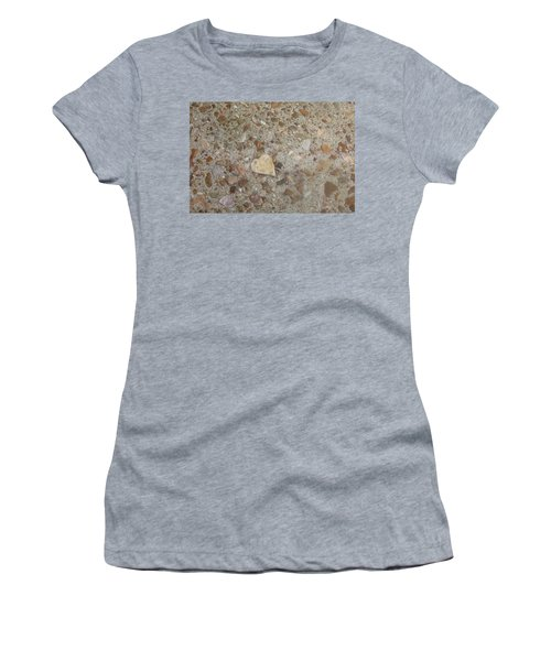 Women's T-Shirt (Junior Cut) featuring the photograph Heart Of Stone by Fortunate Findings Shirley Dickerson