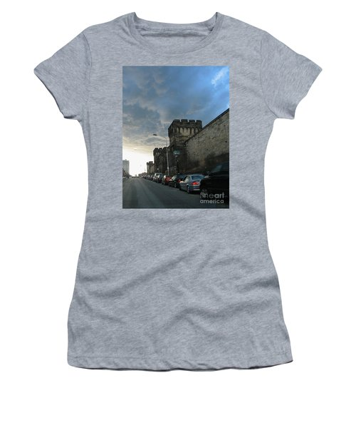 Heavy Weather Over Eastern State Women's T-Shirt