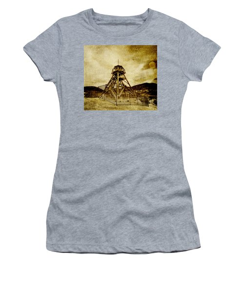 Helena-montana-fire Tower Women's T-Shirt (Athletic Fit)
