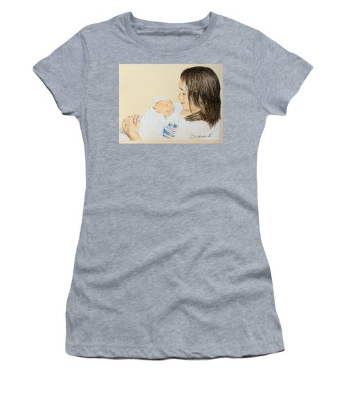 Here I Am Sister Women's T-Shirt (Athletic Fit)