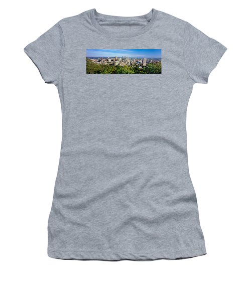 High Angle View Of A Cityscape, Parc Women's T-Shirt