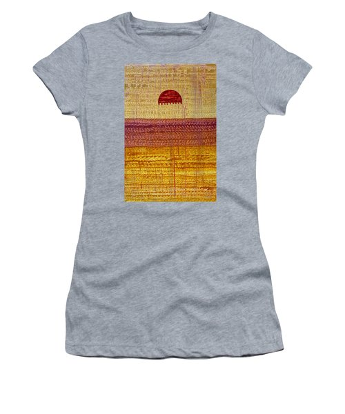 High Desert Horizon Original Painting Women's T-Shirt