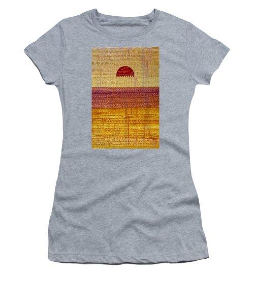 High Desert Horizon Original Painting Women's T-Shirt