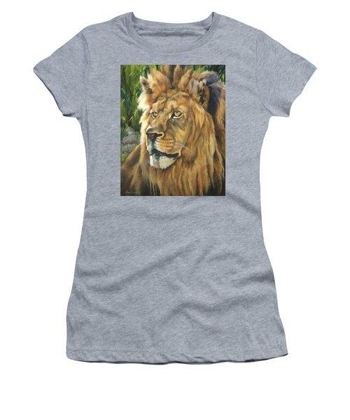 Him - Lion Women's T-Shirt (Athletic Fit)