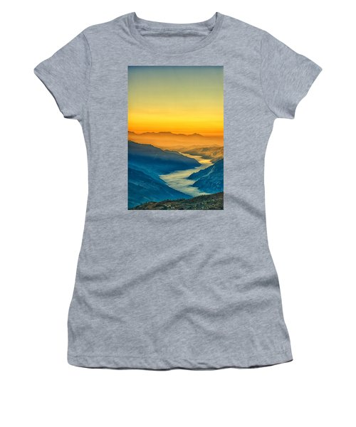 Himalaya In The Morning Light Women's T-Shirt (Athletic Fit)