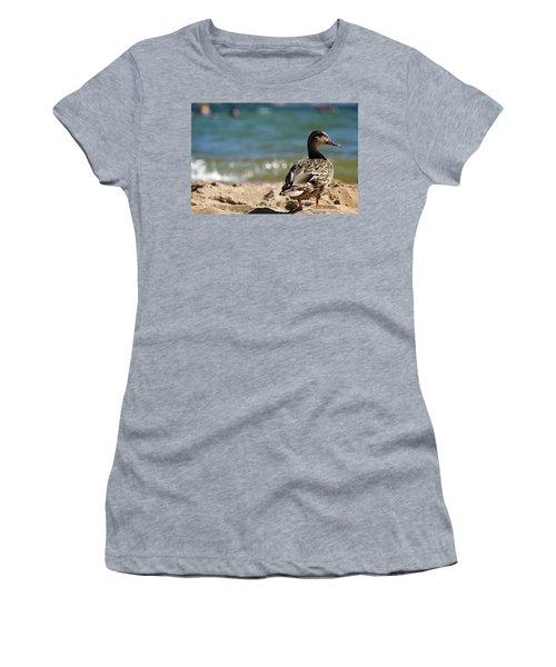 Hitting The Surf Women's T-Shirt