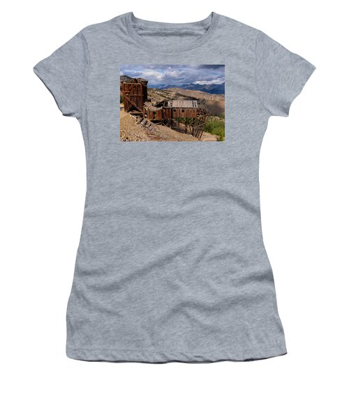 Holding On Women's T-Shirt (Junior Cut) by Leland D Howard