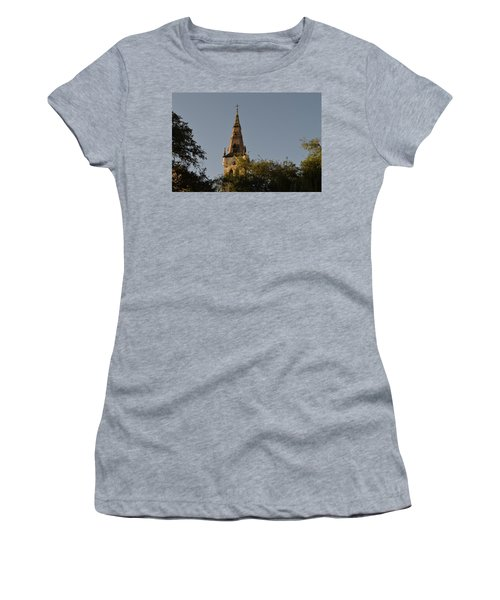 Women's T-Shirt (Junior Cut) featuring the photograph Holy Tower   by Shawn Marlow