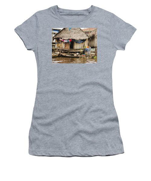 Home In Shanty Town Women's T-Shirt (Junior Cut) by Allen Sheffield