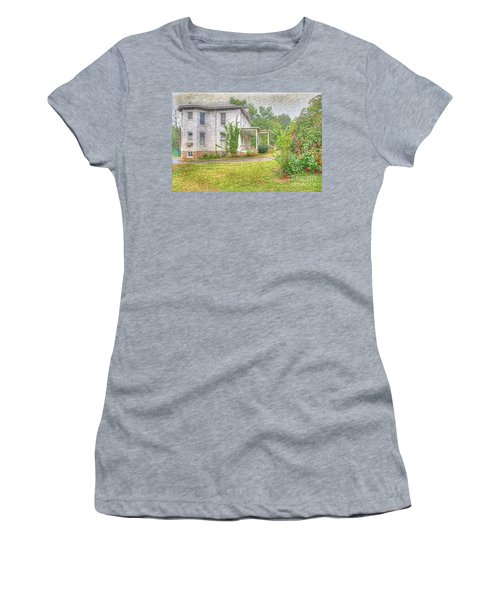 Home Is Where The Heart Is Women's T-Shirt (Junior Cut) by Liane Wright