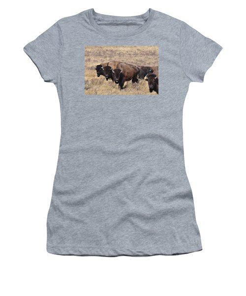 Women's T-Shirt (Junior Cut) featuring the photograph Home On The Range by Fran Riley
