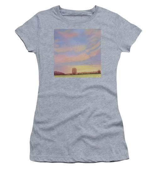 Homeward Women's T-Shirt (Junior Cut) by Ann Brian
