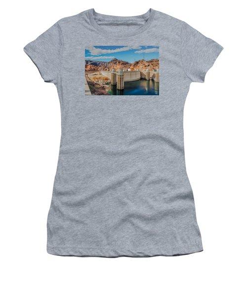 Hoover Dam Reservoir Women's T-Shirt (Athletic Fit)
