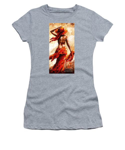 Hot Breeze #02 Women's T-Shirt (Athletic Fit)