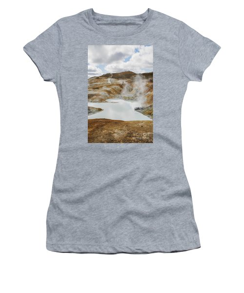 Hot Pool In Krafla Iceland Women's T-Shirt