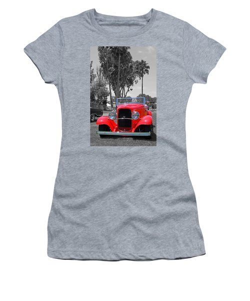 Women's T-Shirt (Junior Cut) featuring the photograph Hot V8 by Shoal Hollingsworth