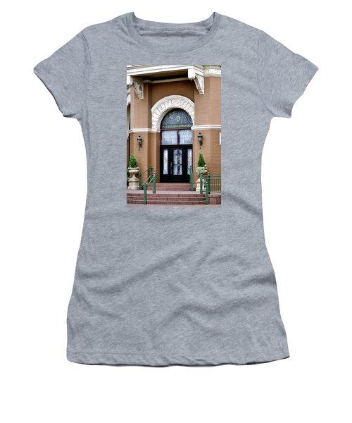 Hotel Door Entrance Women's T-Shirt (Athletic Fit)