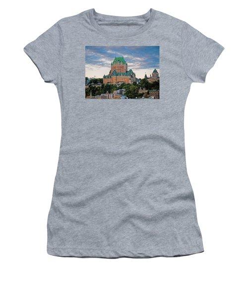 Fairmont Le Chateau Frontenac  Women's T-Shirt